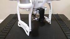 Dji Phantom 3 Landing Gear Extension / Riser 30mm ( Clip & Lock ). NEW