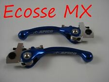 Sherco Trials 125 250 290 300 Apico BLUE Flexi Clutch Lever Brake Lever Set