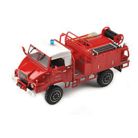 1/43 Red Pompiers Alloy Diecast Vehicles Car Model Toy Collectible
