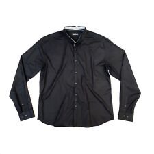 DKNY!!! Amazing 'DKNY' black casual shirt with button front