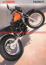 YAMAHA TW 125 - 1999 : Brochure - Dépliant - Moto                         #0557#