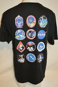 ELEVEN PARIS Man's NASA LOGOS T-Shirt NEW  Size X-Large  Retail $89