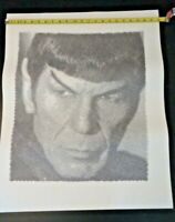 Printed poster Spock Leonard Nimoy 22x28 black and white unique