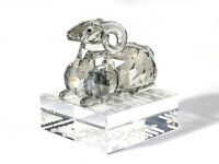 Chinese zodiac Swarovski cristal original Cabra / Sheep 70x60x70mm