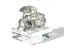 Chinese zodiac Swarovski cristal original Cabra / Sheep 70x60x70mm