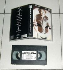 VHS Umberto Tozzi EQUIVOCANDO TOUR 94 Ottimo Live 1994