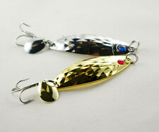 5PCS Fishing Lure Spoon Spinner wire baits Spinner spoons Noise metalr hook