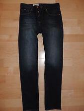 HUGO BOSS Black Label Denim Washed Blue Pants Jeans 30X34 30 34 MAINE 1-5 RUBY