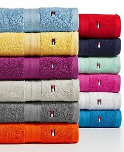 NWT Tommy Hilfiger All American Cotton Bath Towel Collection Various