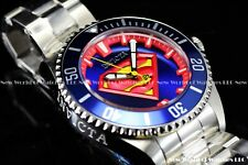 Invicta 38mm DC Comics Clark Kent's SUPERMAN Automatic Pro Diver Lim Ed. Watch