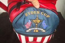 "Miller Ryder Cup Oak Hill Pro Model Staff Cart Golf Bag 10"" ""Mint Condition"""