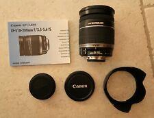 Canon EF-S 18-200mm f/3.5-5.6 IS Reisezoom Tele Objektiv für EOS Kameras
