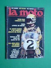 LA MOTO Maggio 1977 Kawasaki Z 650 Laverda Enduro 125 Gilera TG1 125 Guzzi 254