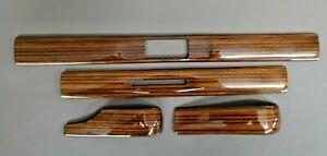 W123 C123 S123 Zebrano Dashboard Trim Set