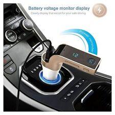 Trasmettitore FM USB MP3 BLUETOOTH AUTO RICARICA SD CARICABATTERIA CAR