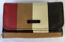 New Genuine Soft Real Leather Lorenz Women Purse Wallet Coin Pouch 3843