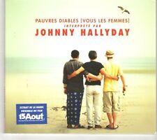 (GK256) Johnny Hallyday, Pauvres Diables  - 2001 CD