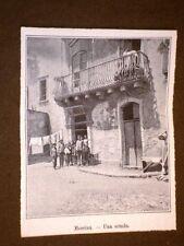 Messina 6 mesi dopo il terremoto del 1909 Una scuola
