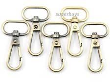 5pc Bronze 20mm Strap Metal Lobster Clip Swivel Snap Hook Case Handbag Ribbo