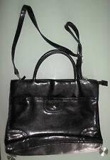 Bhs Women Black Briefcase Handbag