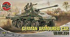 Airfix A01311 1:76 Scale German Armoured Car SD.KFZ.234 Military Vehicles NEW!