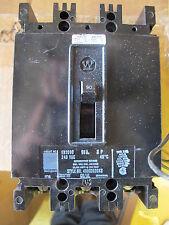 Westinghouse Eb3090 w/Shunt Trip 90 Amp 240 Volt 3 Pole Circuit Breaker Warranty