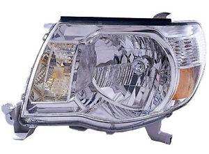 2005 2006 2007 Toyota Tacoma New Driver Side Headlight Assembly