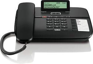 Gigaset DA810A Haustelefon Telefon schnurgebunden Anrufbeantworter Direktruf