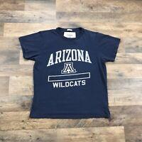 Vintage Style Arizona Wildcats T Shirt Adult Size Medium T-Shirt NCAA Blue Mens