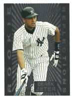 1997 Fleer Ultra Rookie Reflections Derek Jeter Insert #5 New York Yankees HOF