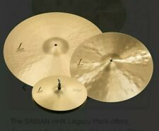 "Sabian HHX Legacy Cymbal Pack 15005XLN 15"" Hi-Hat, 19"" Crash, 22"" Ride auf Lager"