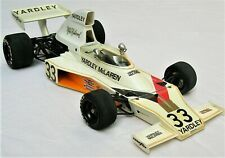 "1974 Yardley/McLaren ""M23"" 1/12 Scale TAMIYA F1 Plastic Model, Box & Instructns"