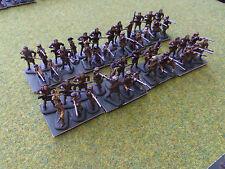1/72 20mm painted American Revolution AWI Militia / riflemen