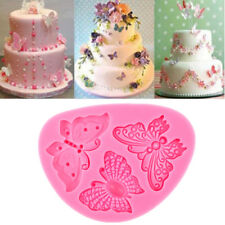 Butterfly Shape Silicone Fondant Cake Mold Decorating Chocolate Bakeware Mould