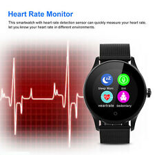 Heart Rate Monitor Bluetooth Smart Watch Phone Mate For Android IOS Samsung Appl