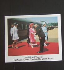 Samoa 1985 85th Birthday Queen Mother MS  MNH UM unmounted mint
