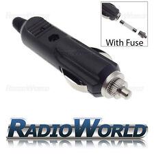 12v Male Car Cigarette Lighter Socket / Plug / Connector 5A with LED & Fuse