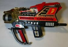 1994 Bandai Mighty Morphin Power Rangers MMPR Power Cannon and Power Gun/Sword