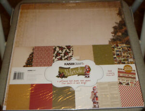 Kaisercrafts - Yuletide Double Sided Papers - Stickers - New!