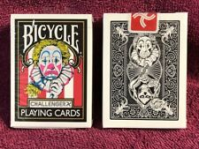 1 DECK Bicycle Challenger X playing cards RARE, JAPAN RELEASE & USA SELLER!