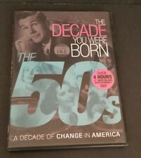 THE DECADE YOU WERE BORN - THE 50'S - DVD - ORIGINAL EXCELLENT CONDITION