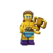 LEGO Minifigure Series 15 THE WRESTLING CHAMPION w/unused code 100% GENUINE
