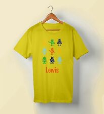 Personalised Robots Tshirt for Men, Women and Kids