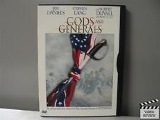 Gods and Generals (DVD, 2003) Stephen Lang, Robert Duvall, Jeff Daniels, WS,