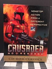 Crusader No Remorse Origin Systems EA Classics 1997 Action RPG PC DOS Big Box