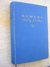 1929-HAMLET PRINCE OF DENMARK William Shakespeare EDITED by Joseph Quincy Adams