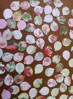 100 Balloon embellishment card making scrapbooking Mixed Colour Pattern Crafts