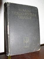 Novum Testamentum Graece - D. Eberhard Nestle (1950, HC)