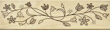 DELICATE FLOWER FLOURISH Rubber Stamp H5284 Hero Arts Brand NEW! floral