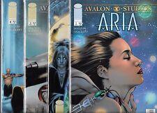 ARIA #1-#4 SET (NM-) AVALON STUDIOS, IMAGE COMICS